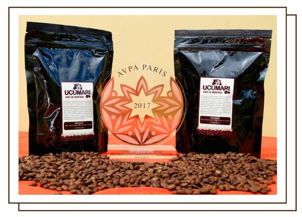 Premio AVPA cafe ucumari